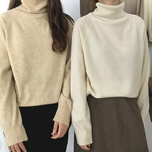 bring turtleneck (4color)
