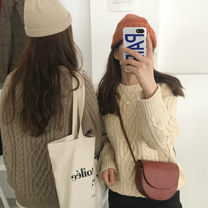 better cable knit (3color) 재진행