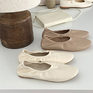 banding flat shoes (4color)