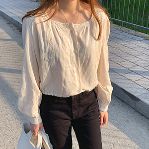 nell blouse (2color)