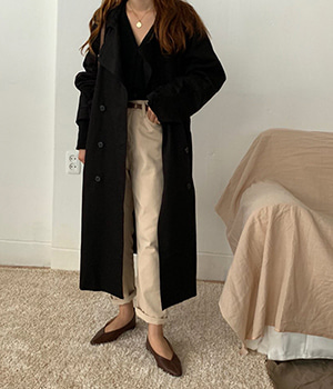 hilton trench coat (2color)