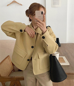 charming handmade jacket (3color)