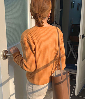 golgi cashmere cardigan (5color)