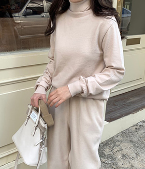 essential pola knit (3color)