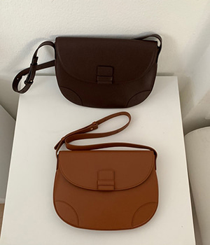 소가죽 flat bag (2color)