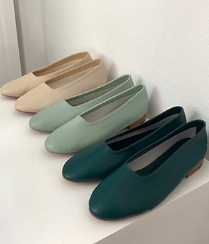 sims flat shoes (4color)