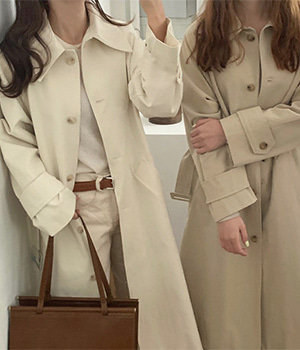 seattle trench coat (2color)