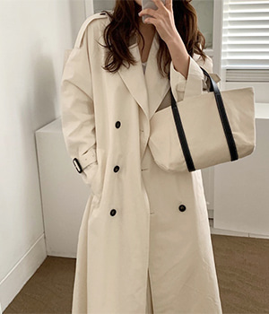 enough trench coat (2color)