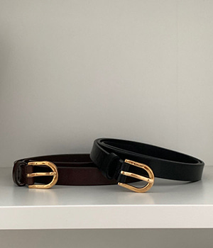 buckle belt (2color)