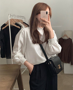 melo blouse (4color)
