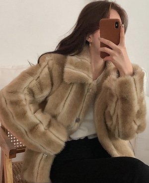 vanessa fur jacket (3color) 재진행