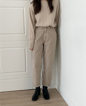 dining pants (beige)