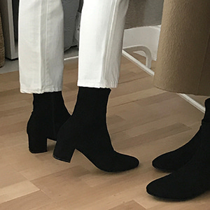 socks ankle boots (2color)