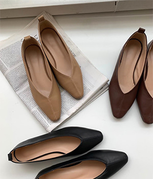 reve flat shoes (3color)